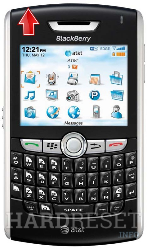 Restore BLACKBERRY 8820