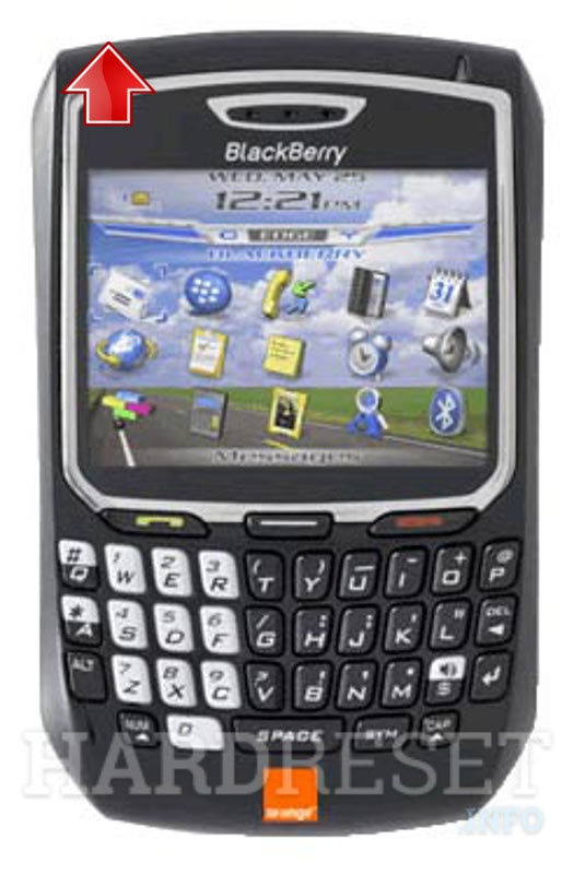 Hard Reset BLACKBERRY 8700f