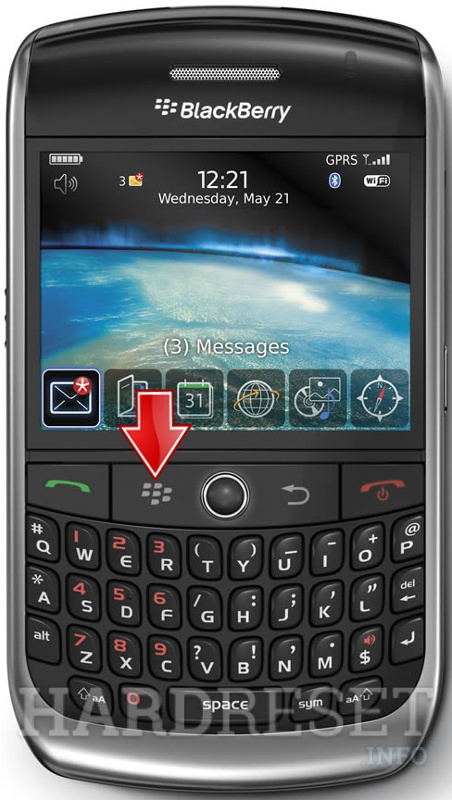 HardReset BLACKBERRY 8900 Curve