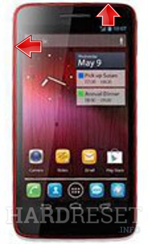 Hard Reset ALCATEL One Touch Scribe X