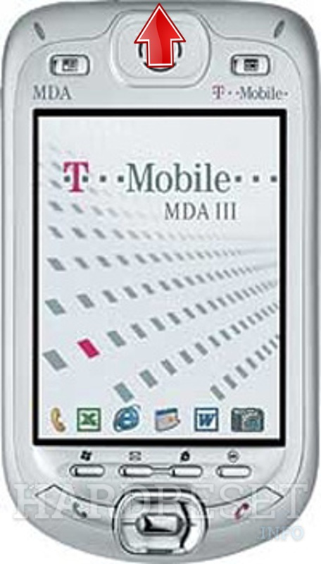 Hard Reset T-MOBILE MDA III (HTC Blueangel)