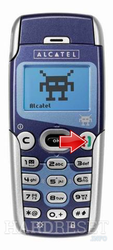 Hard Reset ALCATEL OT 557