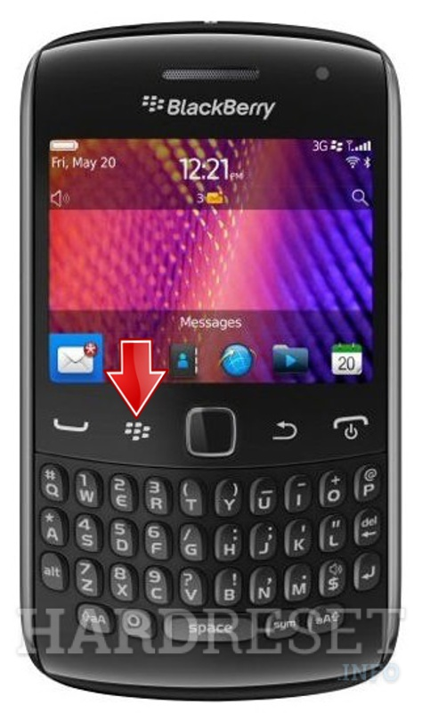 HardReset BLACKBERRY 9370 Curve