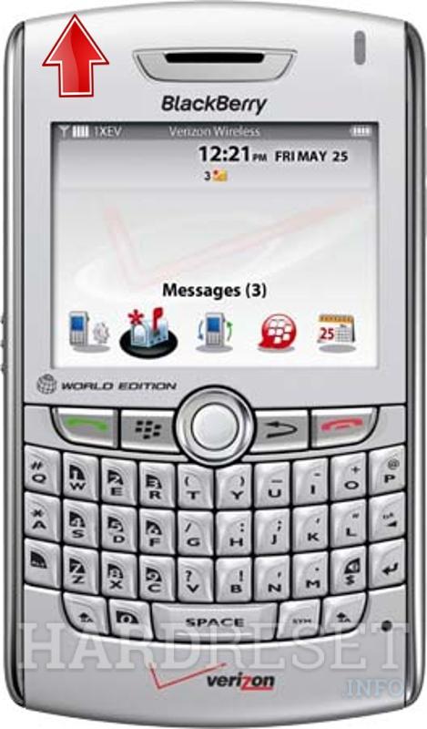 Blackberry world edition reset factory settings