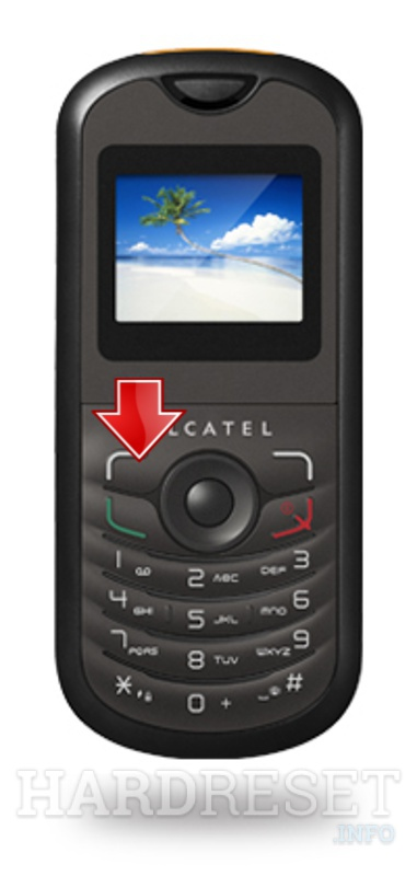 Factory Reset ALCATEL OT-103A
