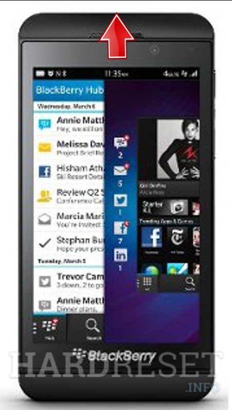 Hard Reset BLACKBERRY Z10