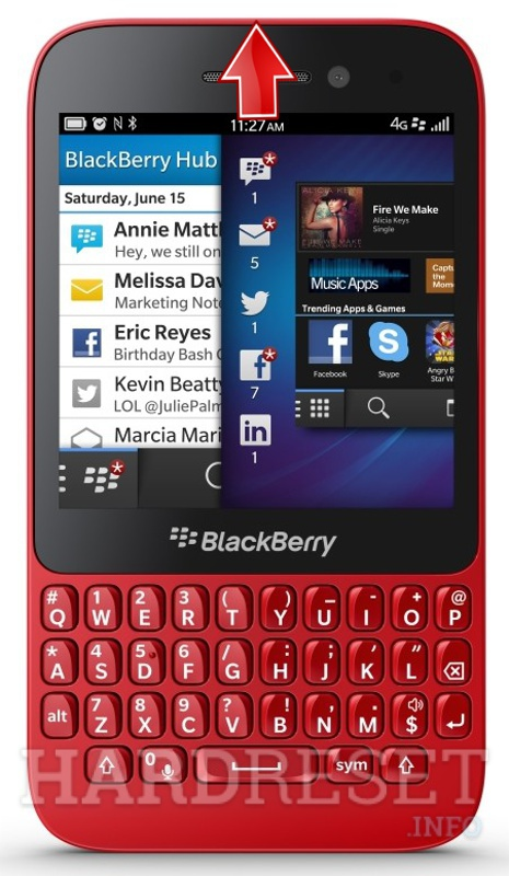 Permanently delete data from BLACKBERRY Q5