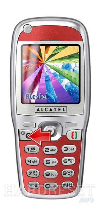 Hard Reset ALCATEL OT 535