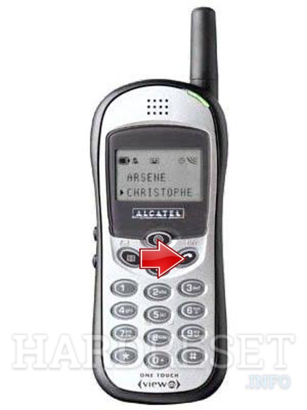 Hard Reset ALCATEL Feature Phone OT Club db, how to - HardReset.info