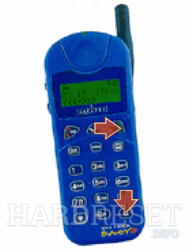 HardReset ALCATEL OT Easy HF