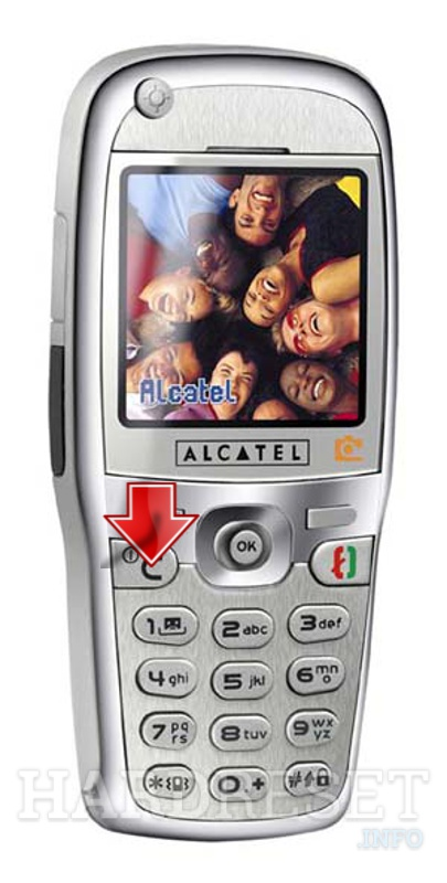Hard Reset ALCATEL OT 735