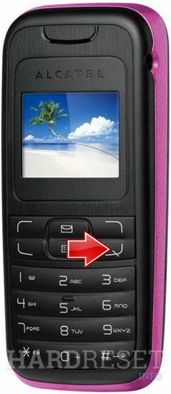 Hard Reset ALCATEL OT-102
