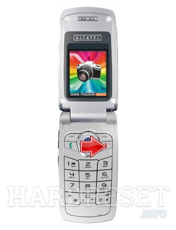 Hard Reset ALCATEL OT 835