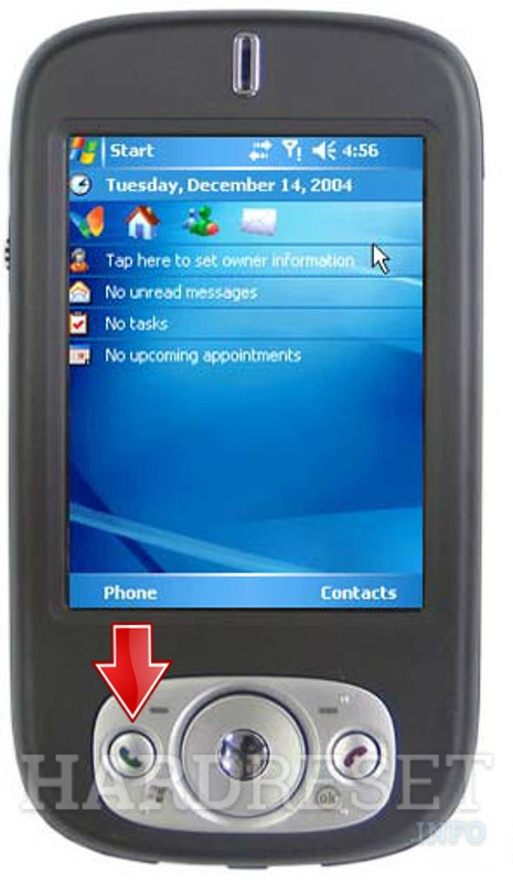 Remove screen password on QTEK S200 (HTC Prophet)