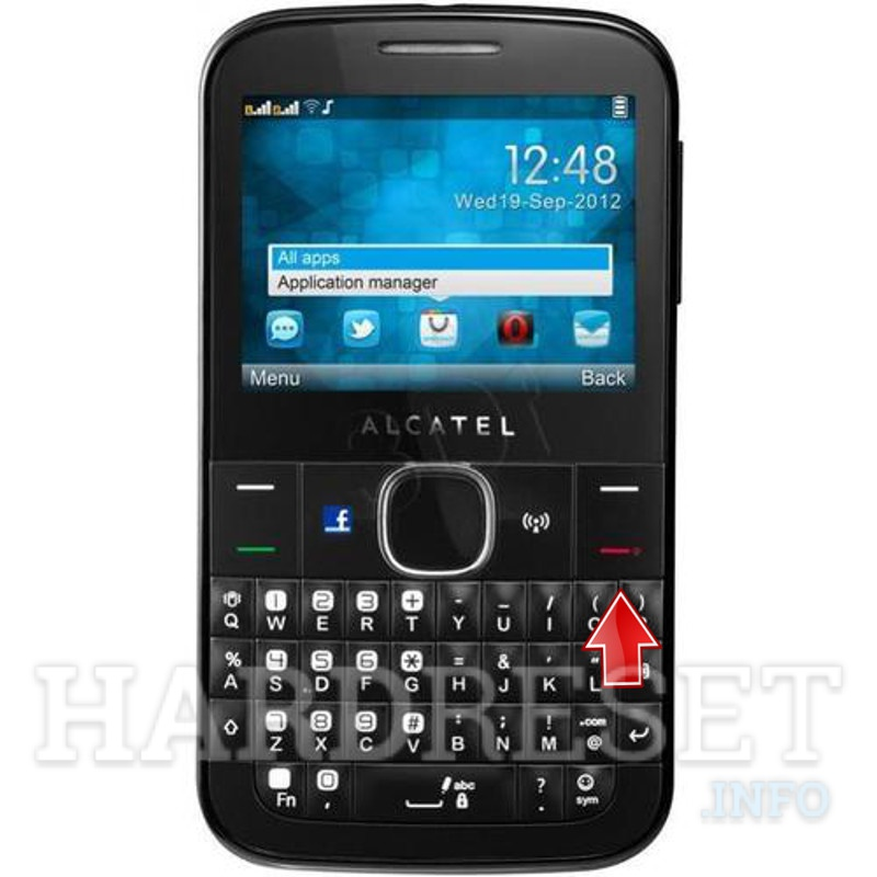 Hard Reset ALCATEL OT-815