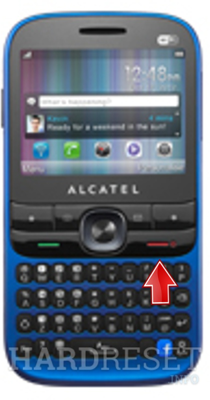Hard Reset ALCATEL OT-838
