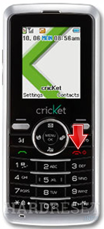 Hard Reset CRICKET A100