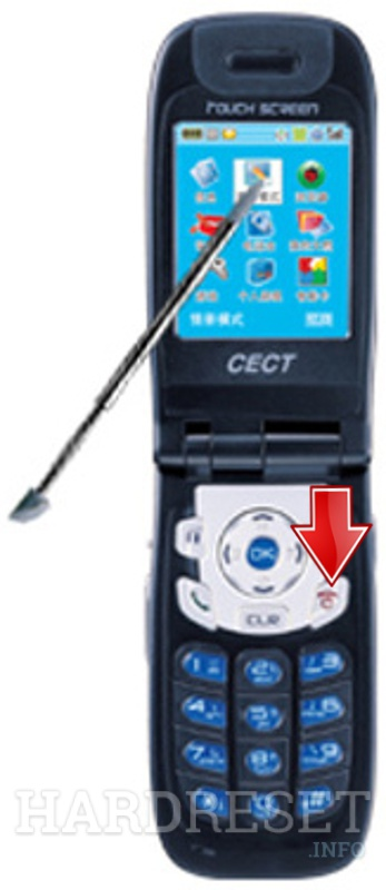 Hard Reset CECT T700