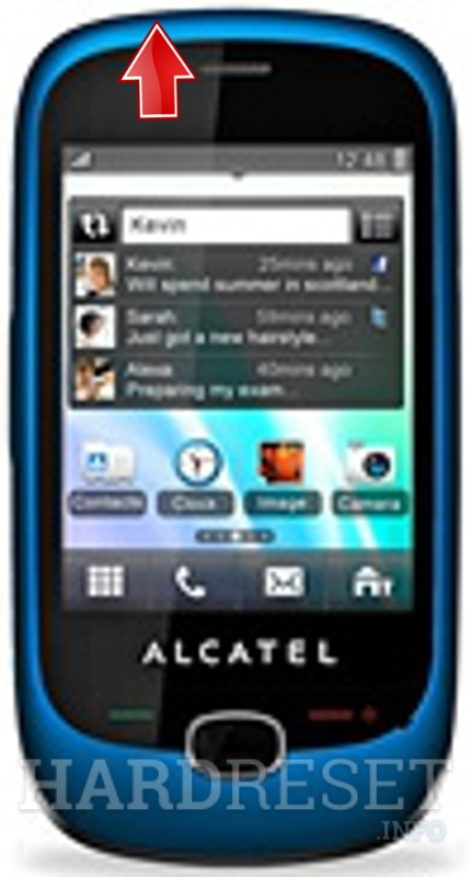 Hard Reset ALCATEL OT-905