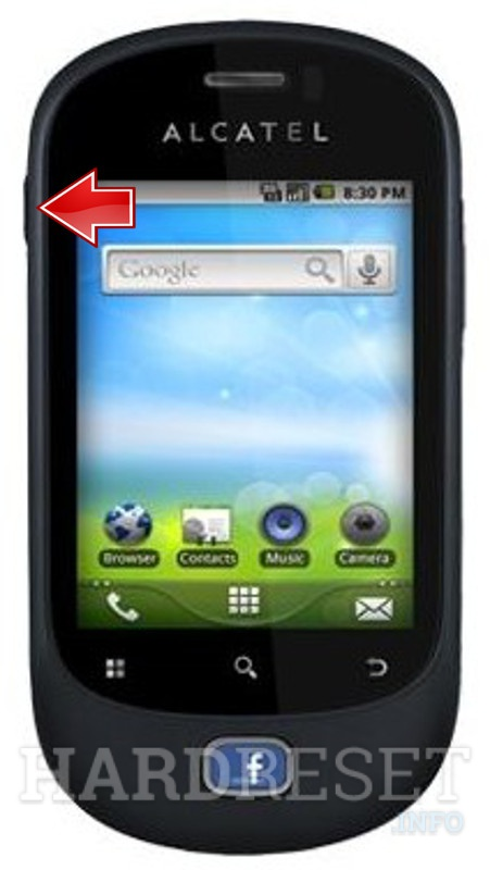 Hard Reset ALCATEL OT-908F