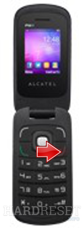 Hard Reset ALCATEL OT-668