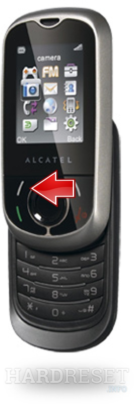 Factory Reset ALCATEL OT-383A