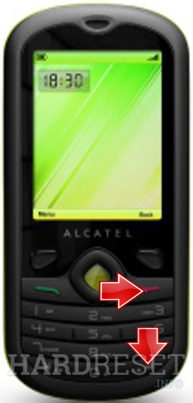 HardReset ALCATEL OT-606 One Touch Chat