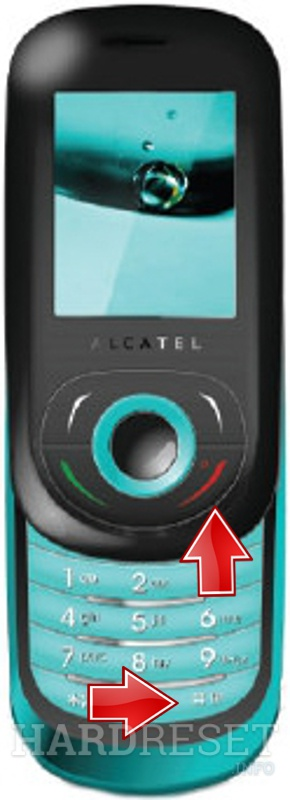 Hard Reset ALCATEL OT-380