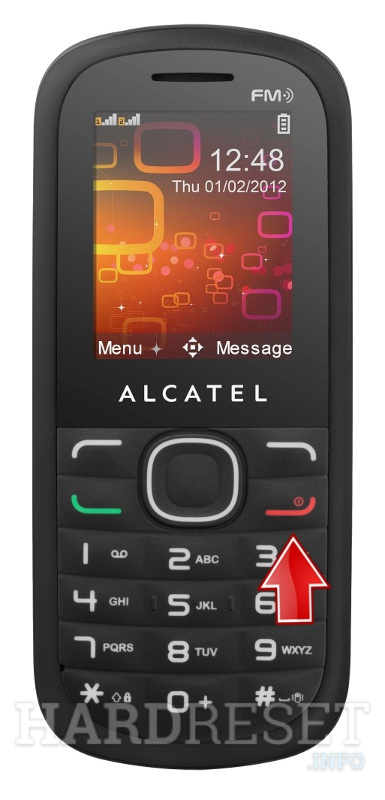 Hard Reset ALCATEL OT-318D