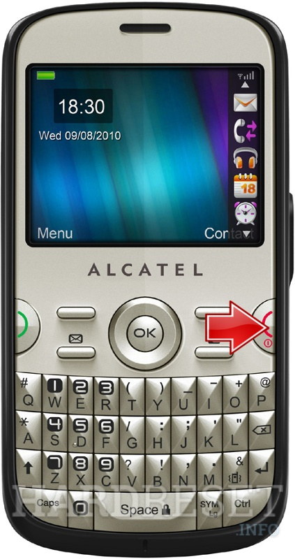 Hard Reset ALCATEL OT-799