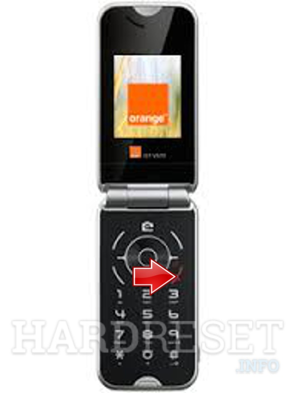 Hard Reset ALCATEL OT-V570