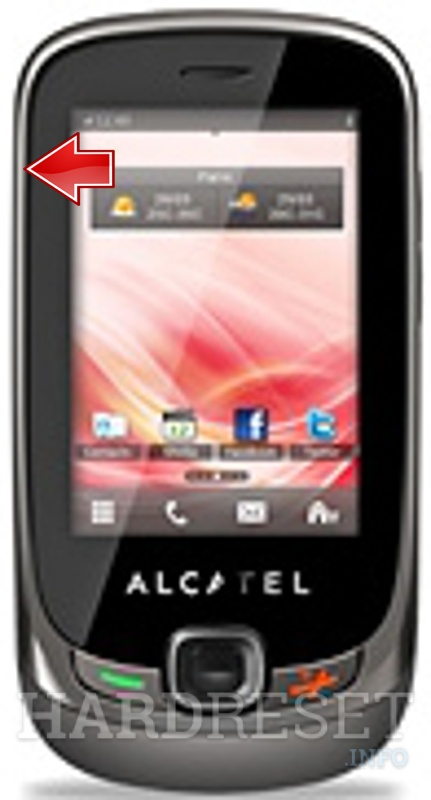 Hard Reset ALCATEL OT-602