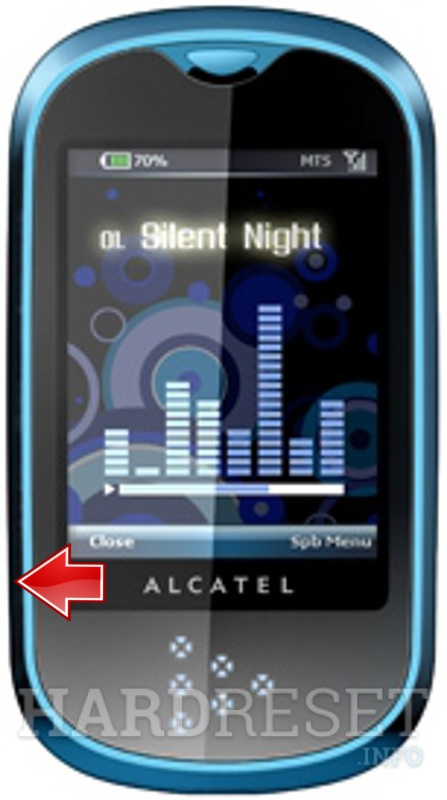 Restore ALCATEL OT-708 One Touch MINI