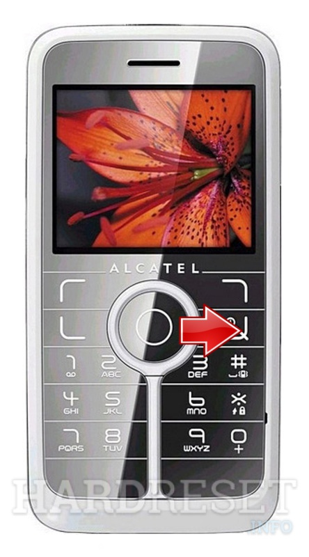 Hard Reset ALCATEL OT-V770