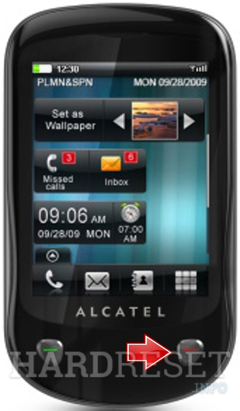 Hard Reset ALCATEL OT-710