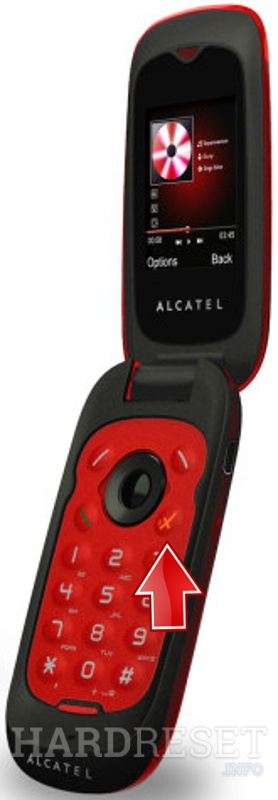 Hard Reset ALCATEL OT-565