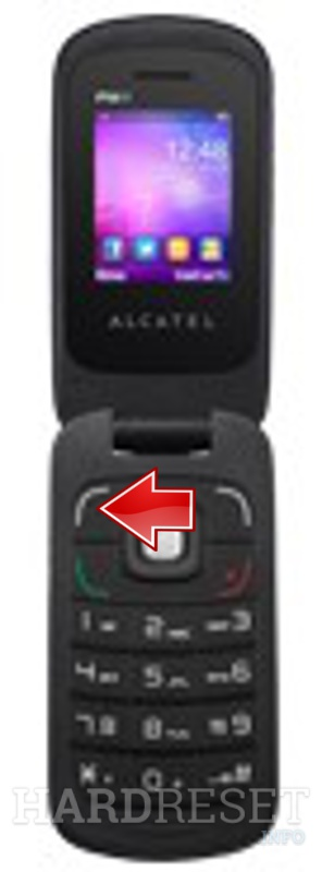 Factory Reset ALCATEL OT-668