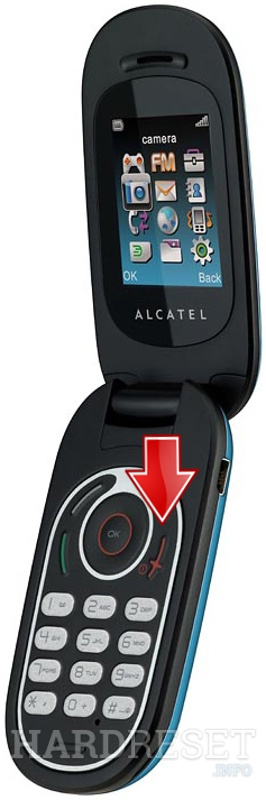 Hard Reset ALCATEL OT-363