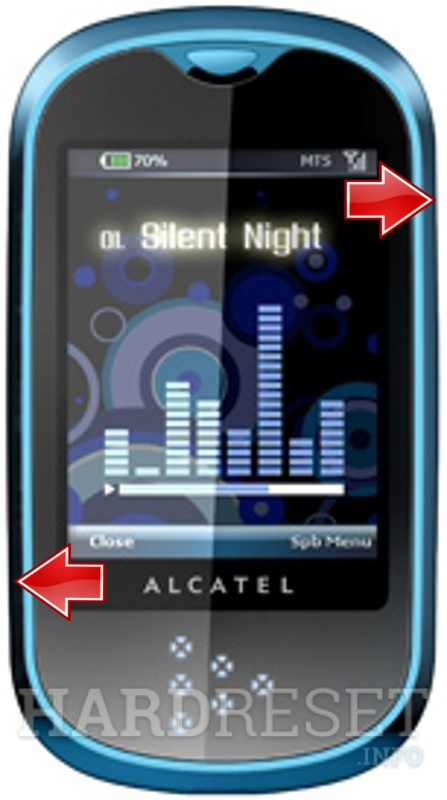 Remove screen password on ALCATEL OT-708 One Touch MINI