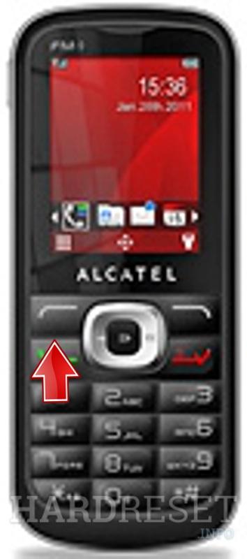 Factory Reset ALCATEL OT-506