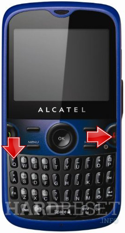 HardReset ALCATEL OT-800 One Touch Tribe