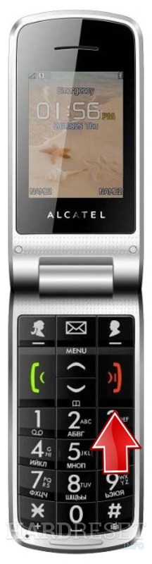 Hard Reset ALCATEL OT-536