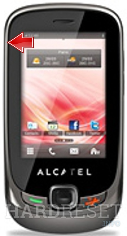 Hard Reset ALCATEL OT-602D