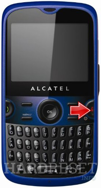 Hard Reset ALCATEL OT-800 One Touch Tribe