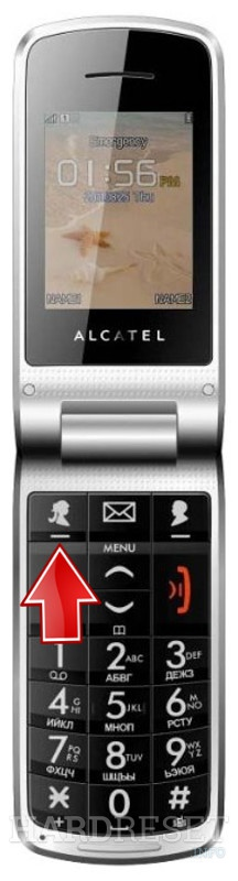 Factory Reset ALCATEL OT-536