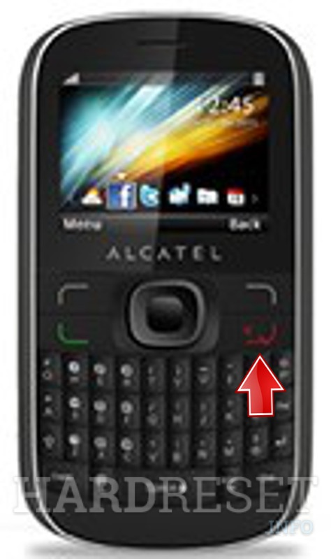 Hard Reset ALCATEL OT-385