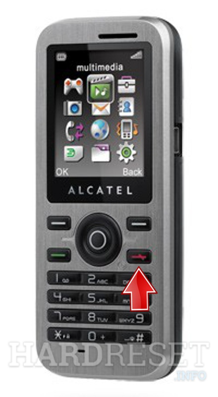 Hard Reset ALCATEL OT-600