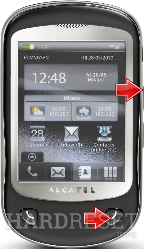 Hard Reset ALCATEL OT-710D