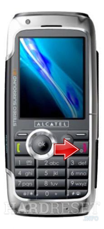 Hard Reset ALCATEL OT-S853