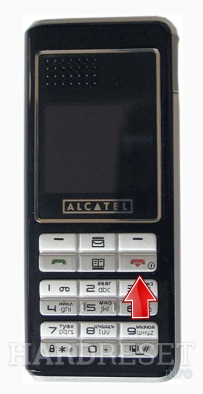 Hard Reset ALCATEL OT-E252